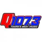 Logo da emissora Radio WCGQ 107.3