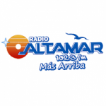 Logo da emissora Radio Altamar 102.3 FM
