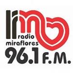 Logo da emissora Radio Miraflores 96.1 FM
