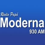 Logo da emissora Radio Moderna 930 AM