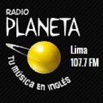 Logo da emissora Radio Planeta 107.7 FM