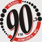Logo da emissora Rádio 90 FM