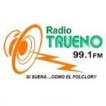 Logo da emissora Radio Trueno 99.1 FM