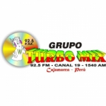 Logo da emissora Radio Turbo Mix 92.5 FM