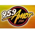 Logo da emissora Radio Amor 95.9 FM