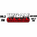 Logo da emissora Radio WCON 99.3 1450 AM 107.7 FM