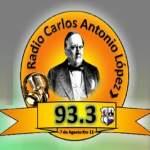 Logo da emissora Radio Carlos Antonio López 93.3 FM