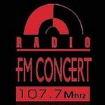 Logo da emissora Radio Concert 107.7 FM
