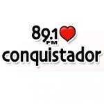 Logo da emissora Radio Conquistador 89.1 FM