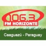 Logo da emissora Radio Horizonte 106.3 FM