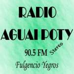 Logo da emissora Radio Aguai Poty 90.5 FM