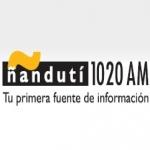 Logo da emissora Radio Nandutí 1020 AM