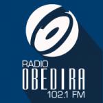 Logo da emissora Radio Obedira 102.1 FM