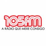 Logo da emissora Rádio 105 FM Açores