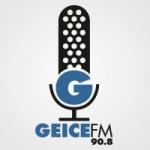 Logo da emissora Rádio Geice 90.8 FM