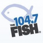 Logo da emissora WFSH 104.7 FM The Fish
