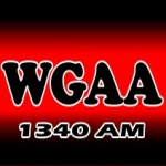 Logo da emissora Radio WGAA 1340 AM