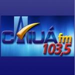 Logo da emissora R�dio Caiu� 103.5 FM