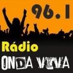 Logo da emissora Rádio Onda Viva 96.1 FM