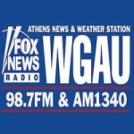 Logo da emissora Radio WGAU 98.7 FM 1340 AM