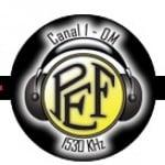 Logo da emissora Rádio Posto Emissor do Funchal 1530 AM