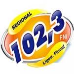 Logo da emissora R�dio Regional 102.3 FM