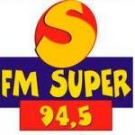 Logo da emissora Rádio FM Super 94.5