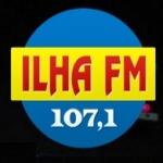Logo da emissora R�dio Ilha 107.1 FM