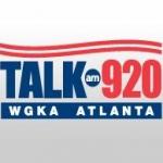 Logo da emissora WGKA 920 AM Talk