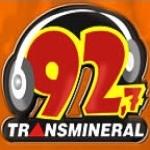Logo da emissora R�dio Transmineral 92.7 FM