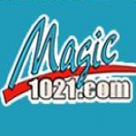 Logo da emissora WGMG 102.1 FM Magic