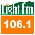 Logo da emissora Rádio Light 106.1 FM