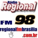 Logo da emissora R�dio Regional 98.1 FM