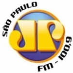 Logo da emissora Radio Jovempan 100.9 FM