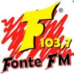 Logo da emissora Rádio Fonte 103.7 FM
