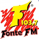 Logo da emissora R�dio Fonte 103.7 FM