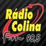 Logo da emissora Rádio Colina 98.5 FM