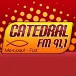 Logo da emissora Radio Catedral 91.1 FM