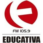 Logo da emissora R�dio 105.9 FM Educativa