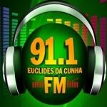 Logo da emissora R�dio Euclides da Cunha 91.1 FM