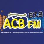 Logo da emissora R�dio ACB 87.9 FM