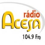 Logo da emissora Rádio Acesa 104.9 FM
