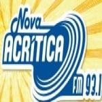 Logo da emissora Rádio A Crítica 93.1 FM