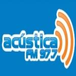 Logo da emissora R�dio Ac�stica 97.7 FM