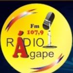 Logo da emissora R�dio �gape 107.9 FM