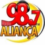 Logo da emissora R�dio Alian�a 98.7 FM