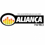 Logo da emissora R�dio Alian�a 98.3 FM