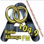 Logo da emissora R�dio Alian�a 104.9 FM