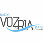 Logo da emissora Rádio Voz da Ria 90.2 FM