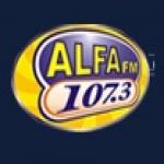 Logo da emissora R�dio Alfa 107.3 FM